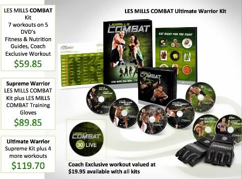 Les Mills Combat workout