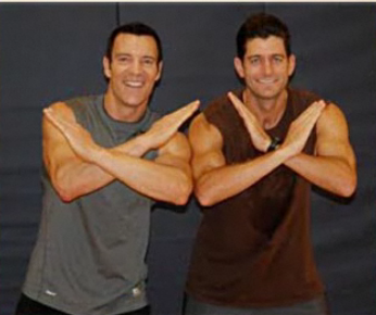 Paul Ryan Does P90X Workout