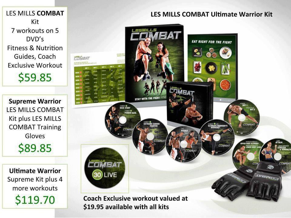 Les Mills Combat Ultimate Warrior