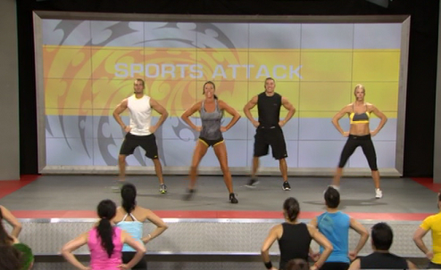 Les Mills Pump Sports Attack
