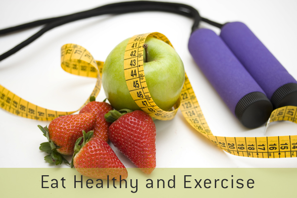 Healthy eating and exercise statistics