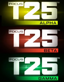 Focus T25 Gamma Workout