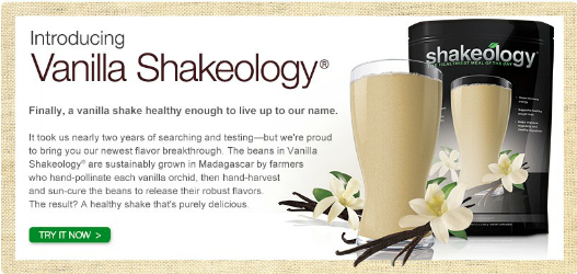 Shakeology Nutrition before a Workout