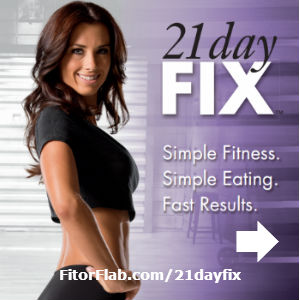 21 Day Fix! A totally simple portion control system and 30-minute workouts.