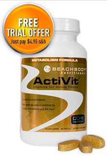 ActiVit Vitamins Free Trial Offer