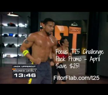 Focus T25 Challenge Pack promo