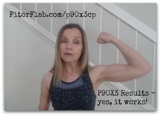 P90X3 Challenge pack results