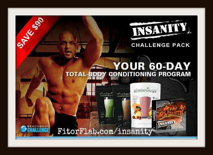 Insanity Challenge Pack Sale June 2014