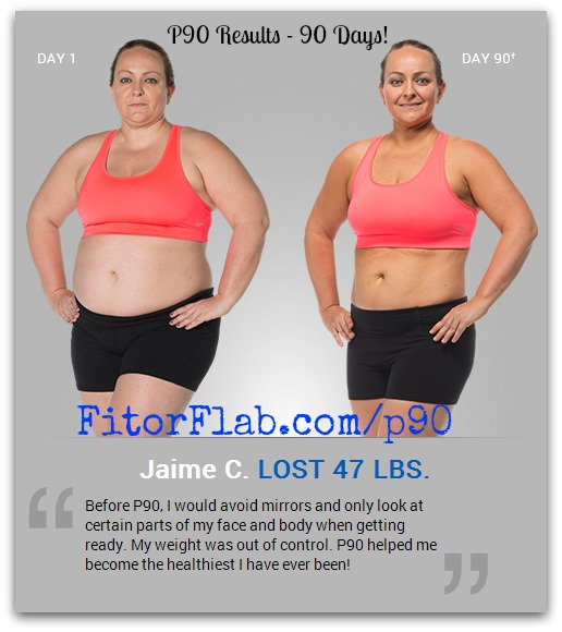 P90 Results - Lost 90 Pounds