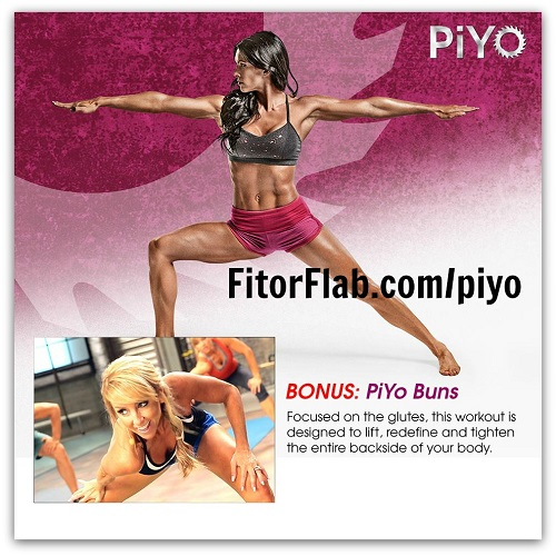 PiYo Workout with Chalene Johnson Available Now