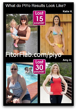 PiYo workout results