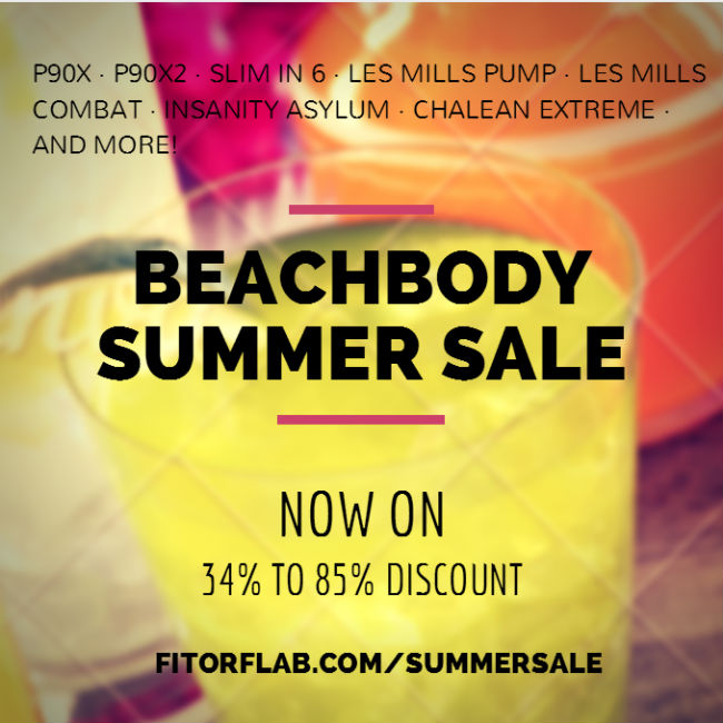 Beachbody Summer Sale June 2014