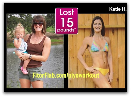 Lost 15 pounds with PiYo workout