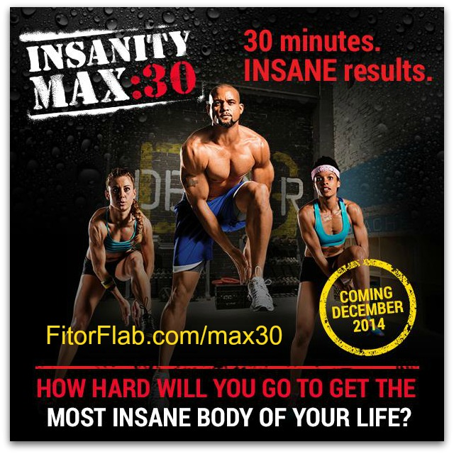 Insanity MAX:30 workout