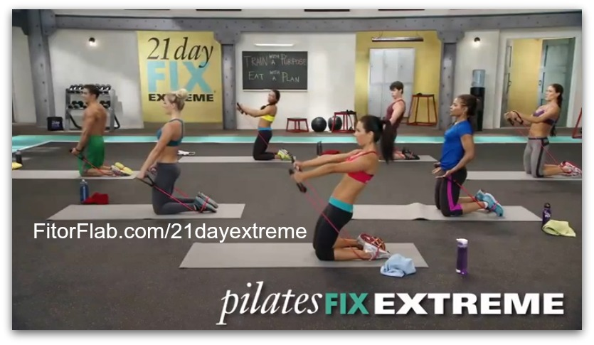 Pilates Fix Extreme workout