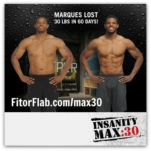 Insanity Max 30 workout available