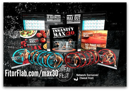 Insanity Max 30 with Shaun T – Available