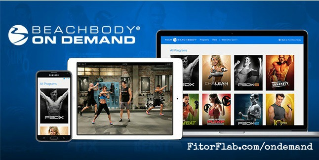 Beachbody Streaming Video