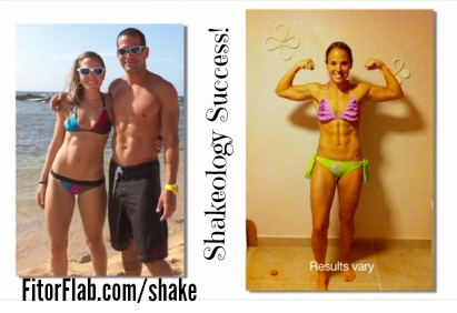 Mom of 2 Shakeology success story