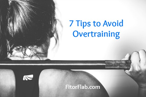 How to Avoid Overtraining