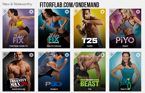 Beachbody on Demand new and noteworthy