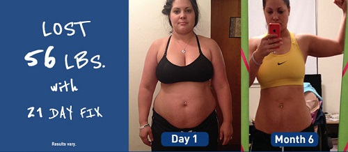 Lose weight with 21 Day Fix program