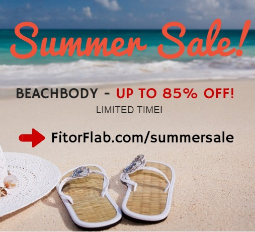 Beachbody Summer Sale June 2015 – Up To 85% Off